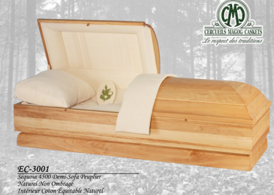 Cercueil écologique - Cercueils Magog
