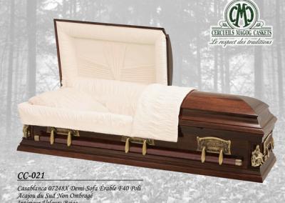 Cercueil en érable - Cercueils Magog