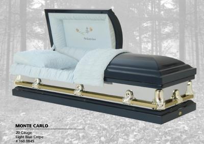 Cercueil en acier Monte Carlo