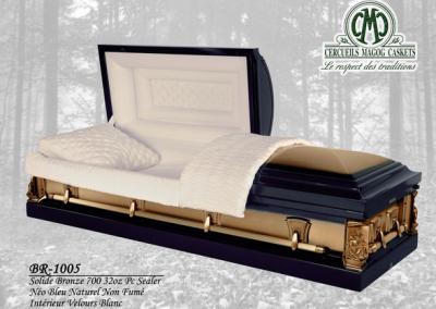 Cercueil en bronze - Cercueils Magog