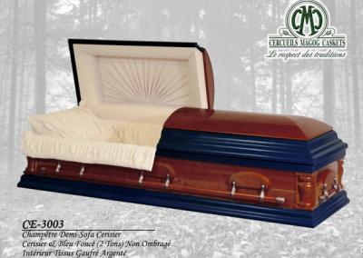 Cercueil en cerisier - Cercueils Magog