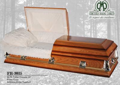 Cercueil en frêne 2- Cercueils Magog
