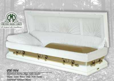 Cercueil en stainless