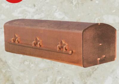 Voûte d'acier avec ouverture à l'extrémité - Cercueils Magog