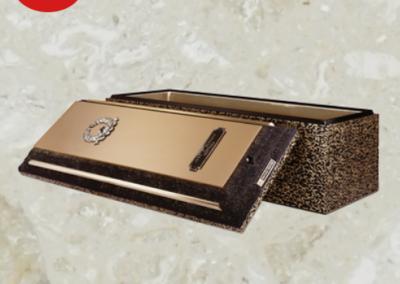 Voûte de cercueil de béton renforcé de haute qualité - Cercueils Magog